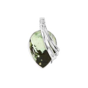 Opal Chalcedony Pendant in Sterling Silver 12cts