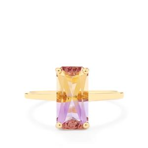 Anahi Ametrine Ring in 9K Gold 2.43cts