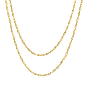 """18"""" Midas Couture Bunch of tow Cordino Chain 3.20g"""