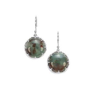 Aquaprase™ Earrings in Sterling Silver 18.53cts