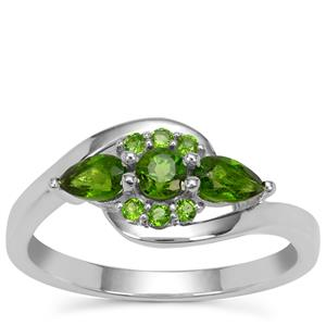 Chrome Diopside Ring in Sterling Silver 0.65ct