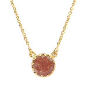 4ct Red Horn Coral Sterling Silver Midas Aryonna Necklace