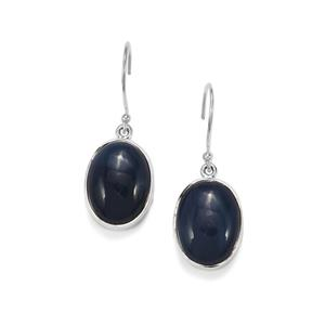 Bengal Blue Opal Earrings in Sterling Silver 14.25cts
