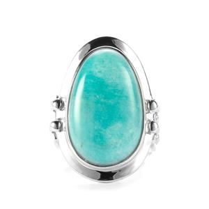 19.94ct Amazonite Sterling Silver Sarah Bennett Ring