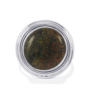 8ct Andamooka Opal Sterling Silver Aryonna Ring