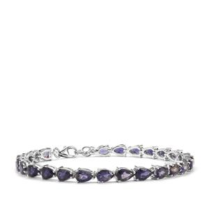 Bengal Iolite Bracelet in Sterling Silver 12cts