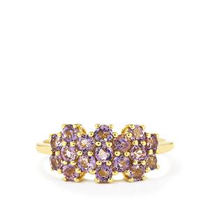 1.06ct Purple Scapolite 9K Gold Ring