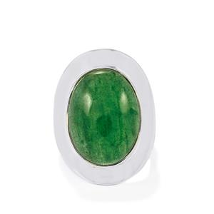 16ct Aventurine Quartz Sterling Silver Aryonna Ring