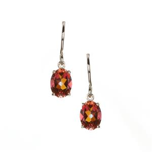 Mystic Twilight Topaz Earrings in Sterling Silver 2.94cts