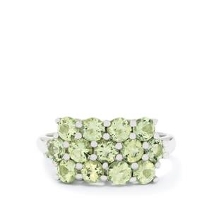 1.67ct Lemanja Amblygonite Sterling Silver Ring