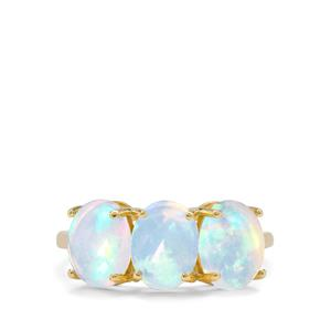 2.40ct Kelayi Ethiopian Opal 9K Gold Ring