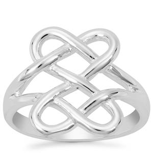 Love Knot Ring in Sterling Silver