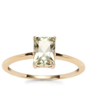 Csarite® Ring in 10k Gold 1.10cts