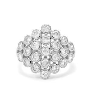 1.97ct Diamond 9K White Gold Tomas Rae Ring
