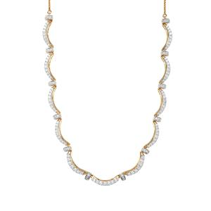 Diamond Necklace in 18K Gold 2.05ct