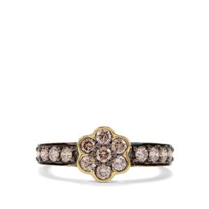 3/4ct Argyle Diamond 18K Gold Tomas Rae Ring