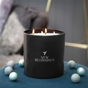 Extra Large 4-Wick New Year Candle
