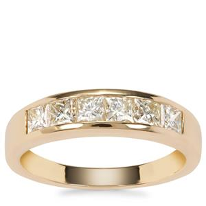 Natural Fancy Diamond Ring in 18K Gold 1.12ct