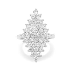 3.50ct Ratanakiri Zircon Sterling Silver Ringa