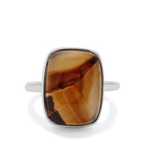 8.90ct Montana Agate Sterling Silver Aryonna Ring
