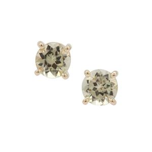 Csarite® Earrings in 9K Gold 1.88cts