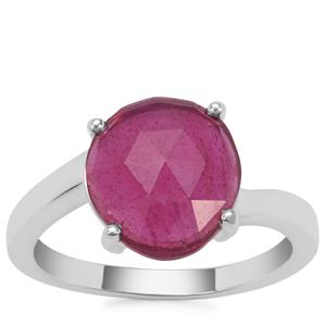 Madagascan Ruby Ring in Sterling Silver 3.56cts