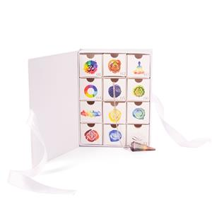 Luxury 12 Days of Christmas Chakra Advent Calendar ATGW 652cts