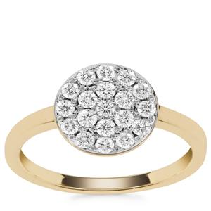 Internally Flawless Diamond Ring in 18k Gold 0.51ct