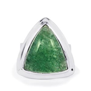 13ct Aventurine Quartz Sterling Silver Aryonna Ring