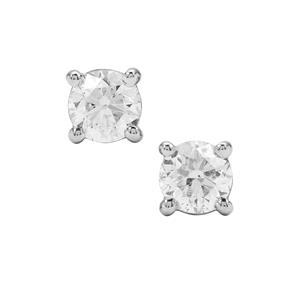 1ct Diamond Platinum 950 Earring