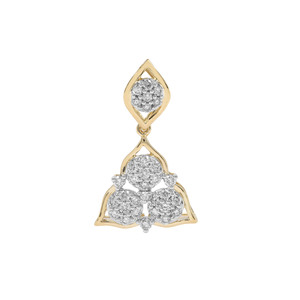Argyle Diamond Pendant in 9K Gold 0.51ct