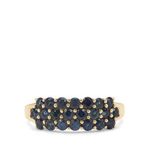 1.33ct Australian Blue Sapphire 9K Gold Ring