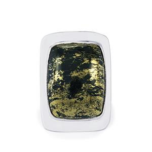 19.50ct Apache Gold Pyrite Sterling Silver Aryonna Ring