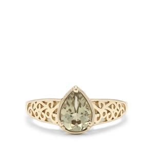 Csarite® Ring in 9K Gold 1.20cts