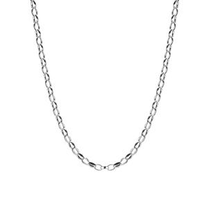 "18"" Sterling Silver Classico Oval Belcher Chain 4.01g"