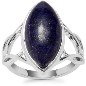 Sar-i-Sang Lapis Lazuli Ring in Sterling Silver 8.95cts