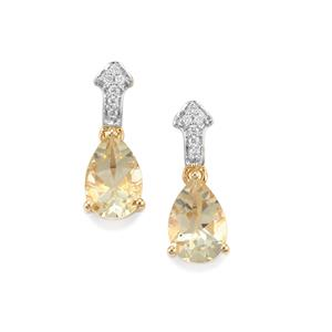Serenite Earrings with Diamond in 18k Gold