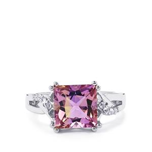 Anahi Ametrine Ring with White Topaz in Sterling Silver 3.54cts