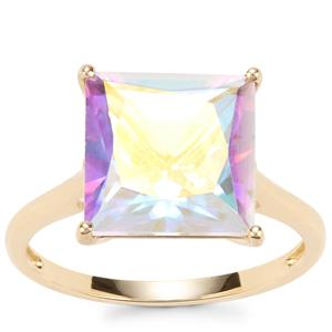 Mercury Mystic Topaz Ring in 10K Gold 5.82cts