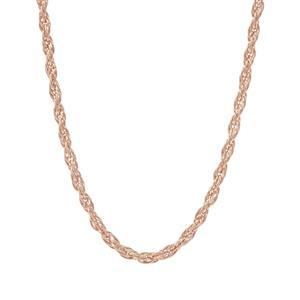 "24"" Rose Midas Couture Cordino Slider Chain 3.06g"
