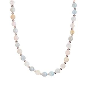 'The Medina' Multi-Colour Beryl Necklace with Magnetic Lock in Sterling Silver 101.83cts