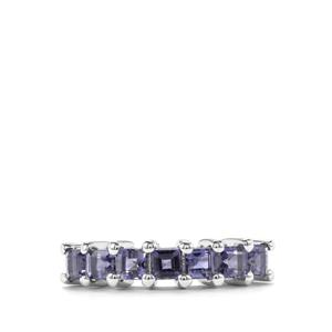 Bengal Iolite Ring in Sterling Silver 0.92ct
