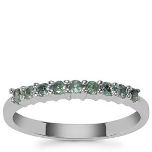 Orissa Alexandrite Ring in Sterling Silver 0.26cts