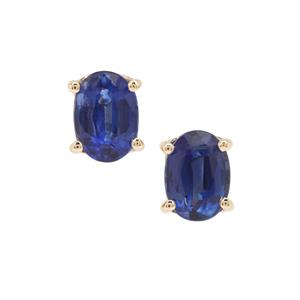 2ct Nilamani 9K Gold Earrings