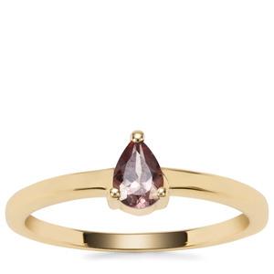 Tsivory Colour Change Garnet Ring in 9K Gold 0.44cts