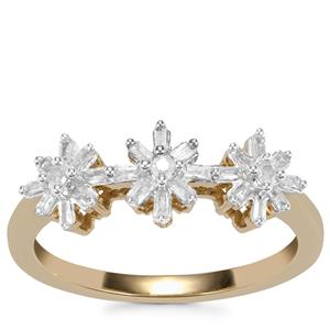 Diamond Ring in 10k Gold 0.21ct