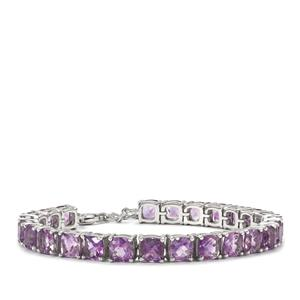 Moroccan Amethyst Bracelet in Sterling Silver 22.05cts