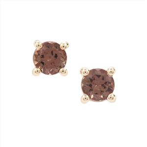 Miova Loko Garnet Earrings in 9K Gold 0.64ct
