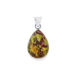 Stichtite Pendant in Sterling Silver 16cts