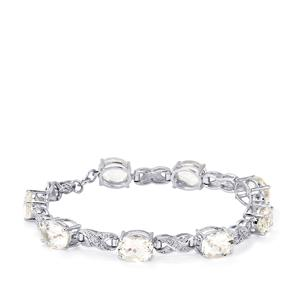 Itinga Petalite Bracelet in Sterling Silver 17.50cts